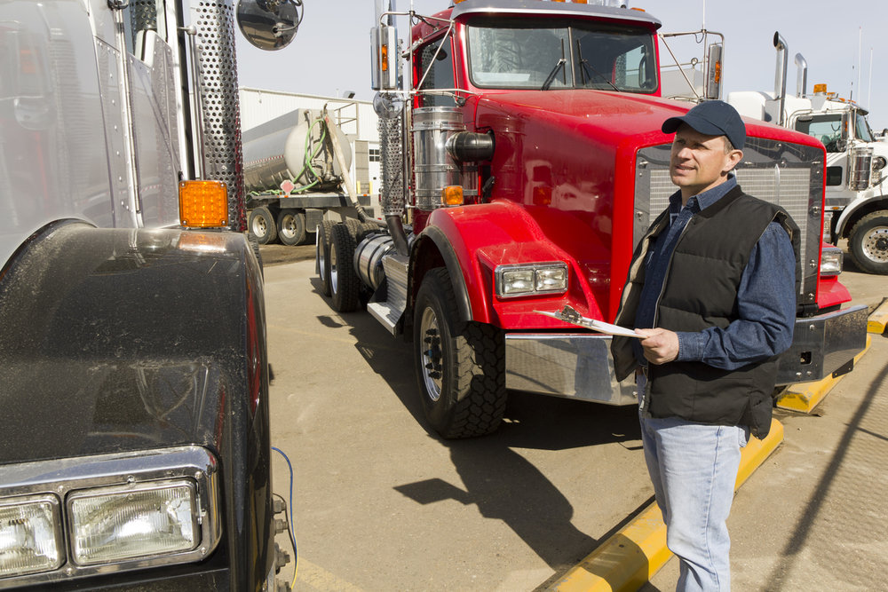 Truckers will be inspected from June 6-8th this year.