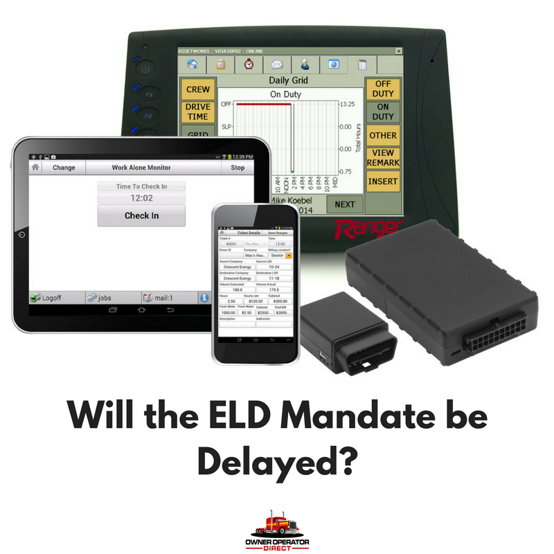 Congress discussed delaying the ELD Mandate