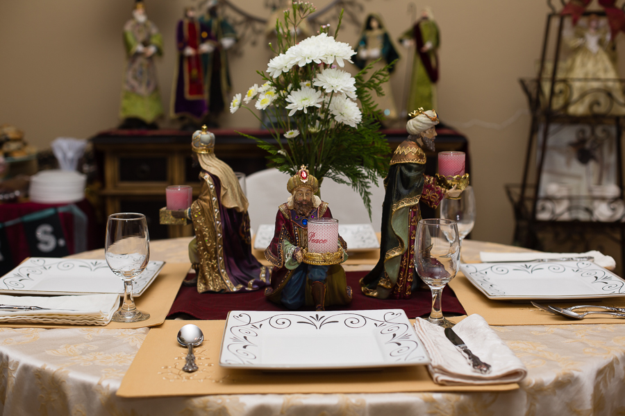 Three Wise Men Center Pieces