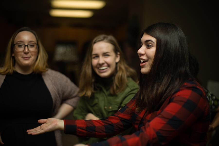 Liz, Megan, Maci