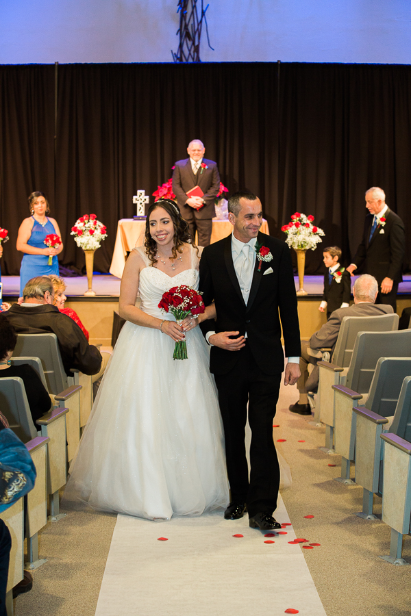 Walking back as Husband and Wife