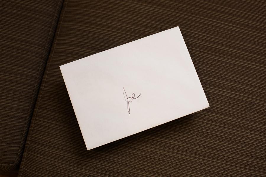 Bride's Love Letter