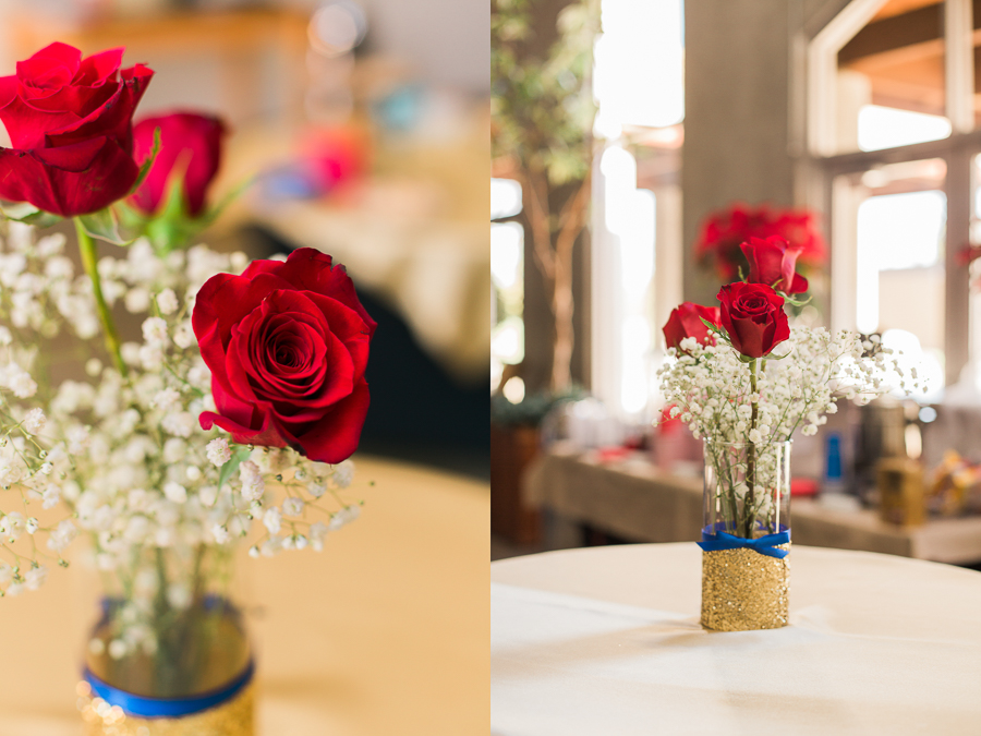 Beauty and the Beast Inspired Center Pieces