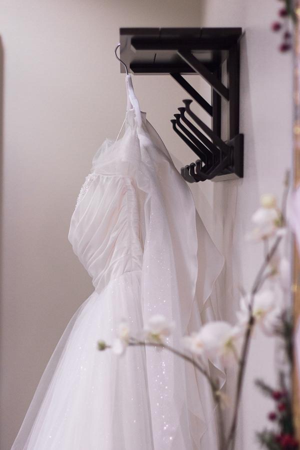 Sparkly Cinderella Wedding Dress