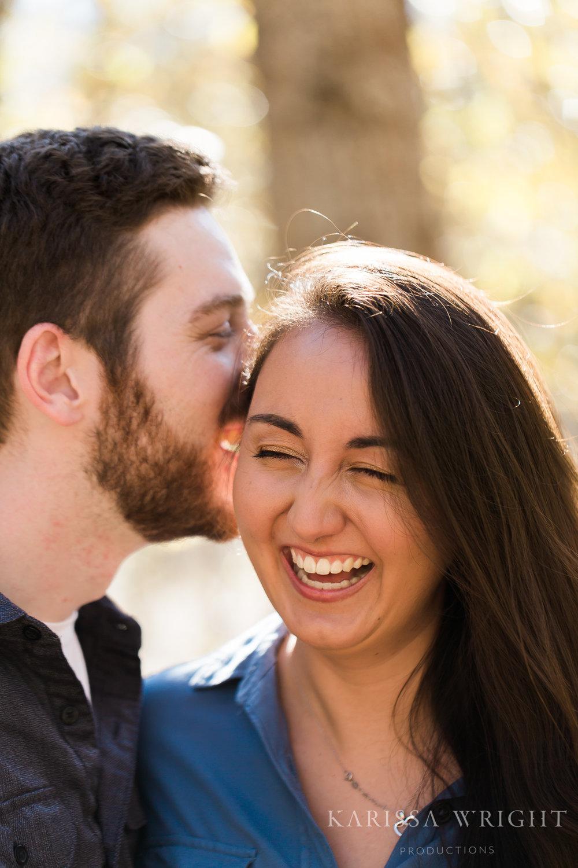 Sarah & Evan Laughing