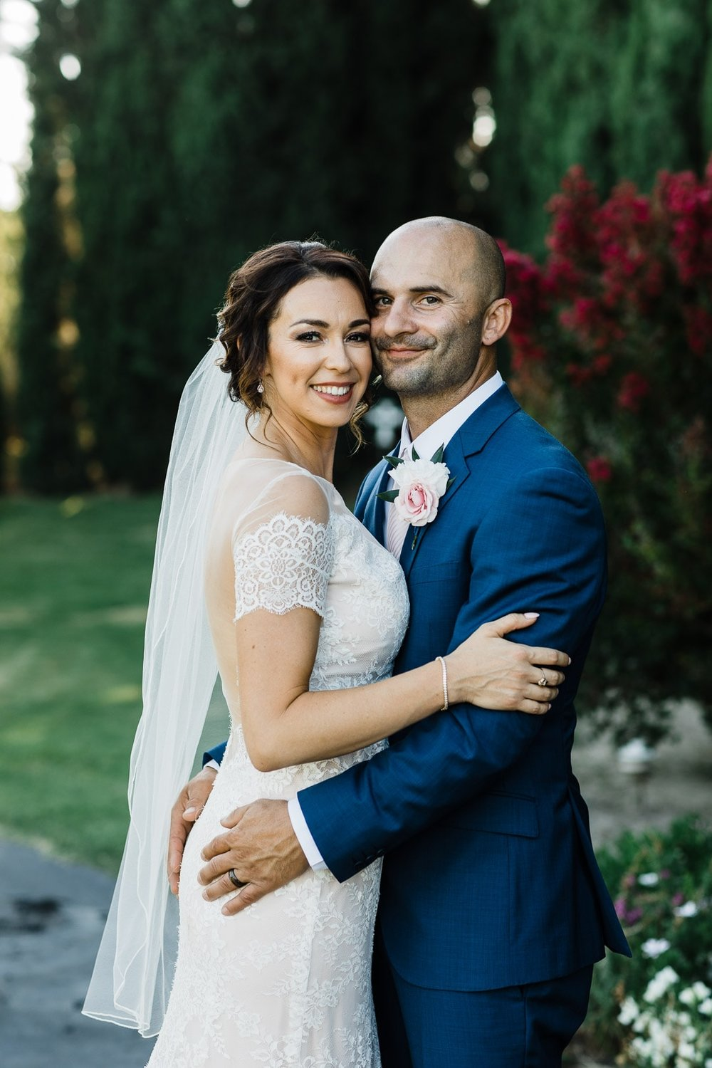 Jamie and John have an epic June summer wedding on one of the hottest days of the year.