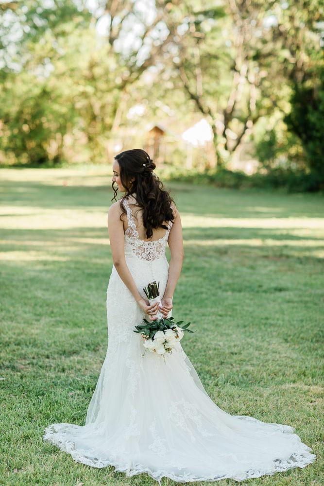 Lovely Lace Bridal Dress