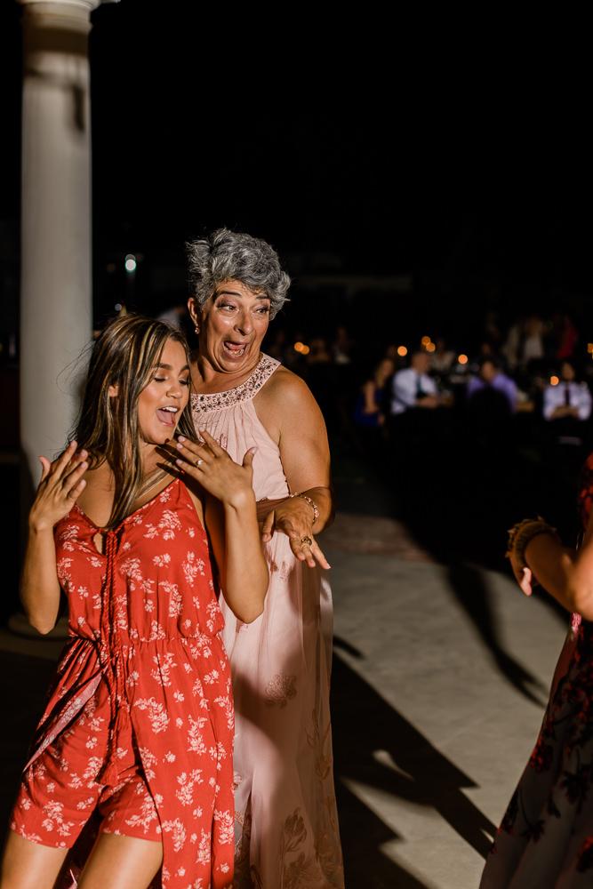 Dancing the Outdoor Summer Wedding Night Away