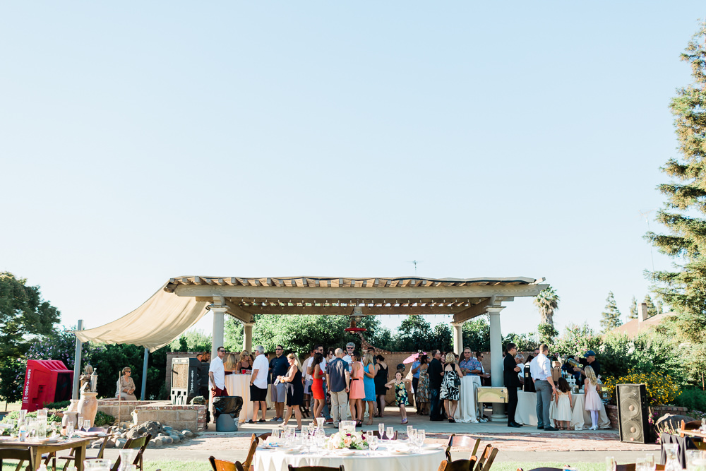 Country Outdoor Summer Wedding in Modesto, CA