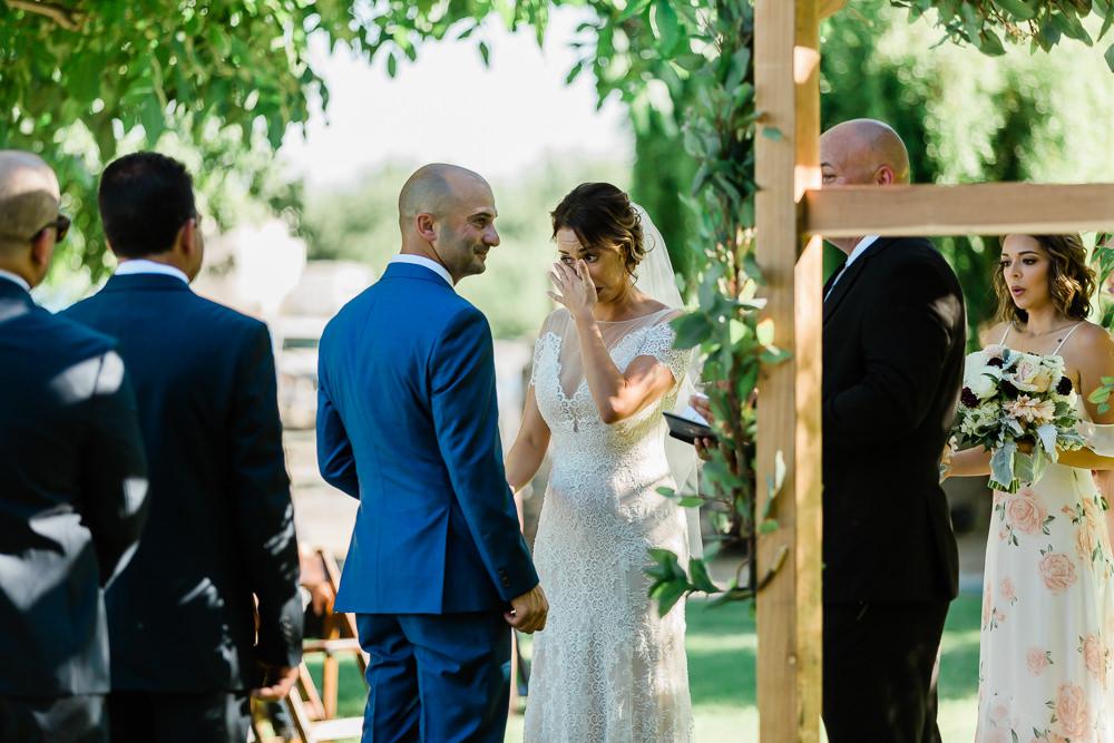 Bride Cries