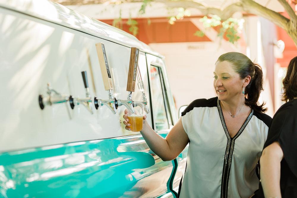 Tap Truck of Central Valley in Modesto California Wedding