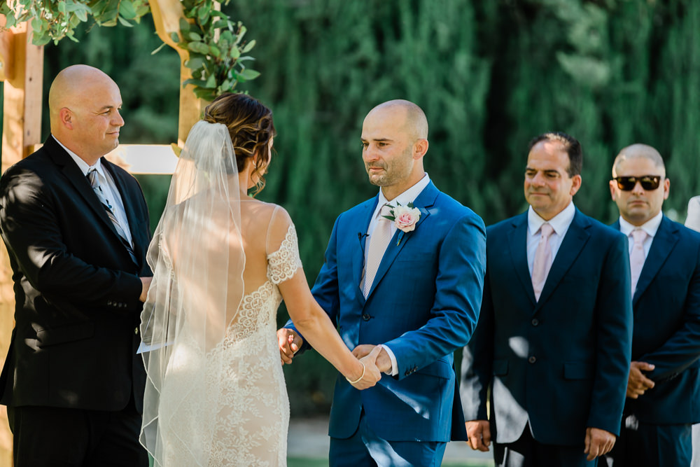 Emotional Vow Moments with Modesto Wedding Photography