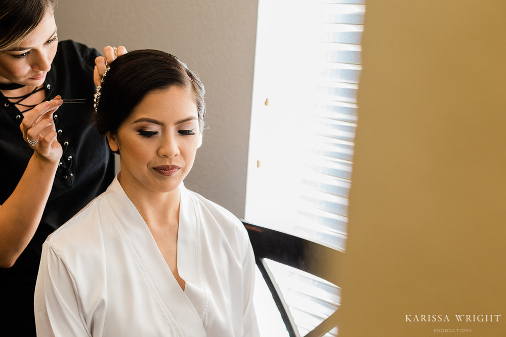 Getting Ready with a Hair and Makeup Artist