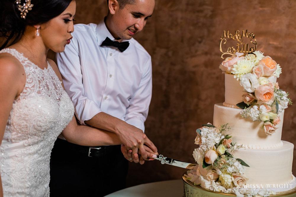 Couple Cut Cake