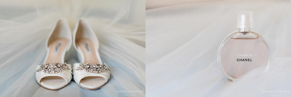 Wedding Shoes & Perfume