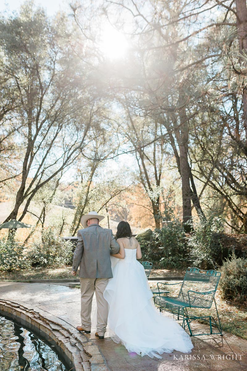 Sparks Ranch Resort Elopement Reception
