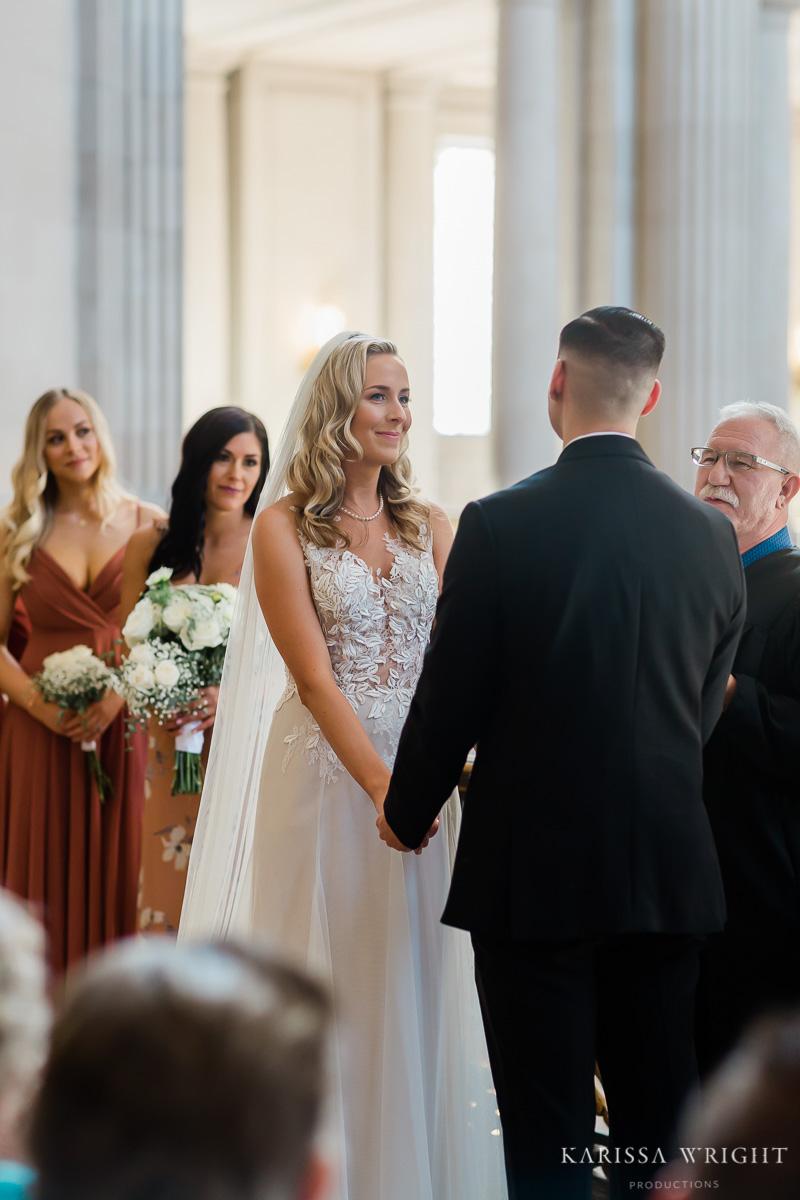 City Hall Elopement Bride