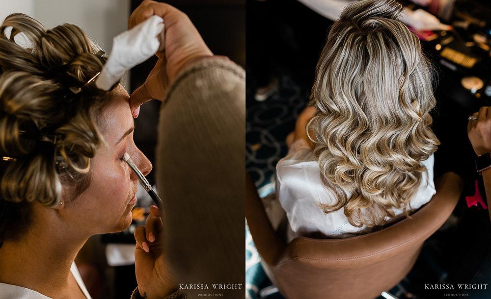 Wedding Hair Ringlets