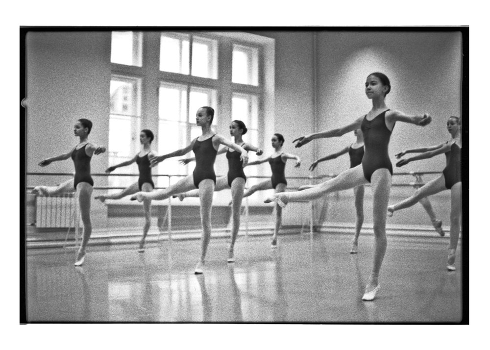 One of the daily ballet classes.