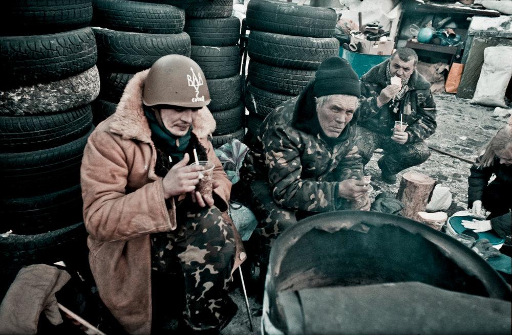 © Sam Asaert - Eating Soup on the Barricades