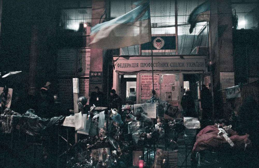 © Sam Asaert - Ukranian Trade Unions Building