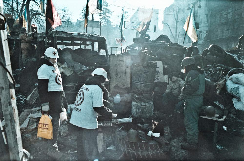 © Sam Asaert - Food distribution at Khrushevskovo