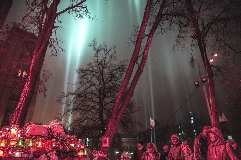 © Sam Asaert - Lights for the heroes