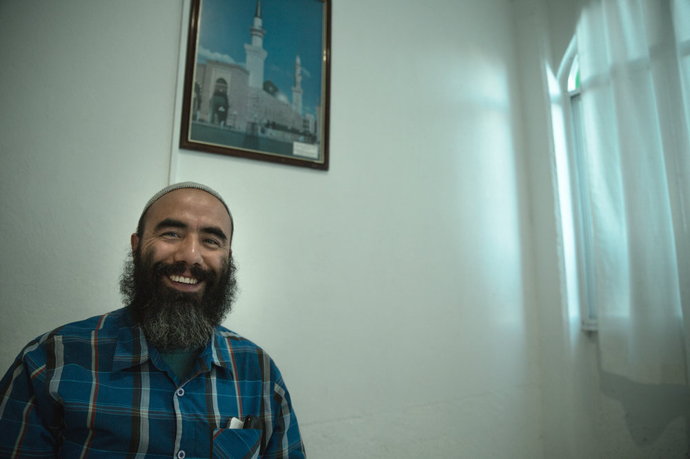 Hamza Rojas, Mexican convert and informational staff member of Al Hikmah.