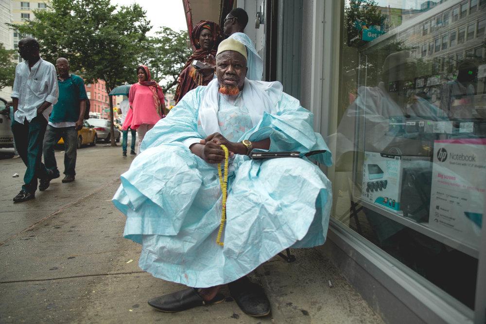 West African Muslim in East Harlem.