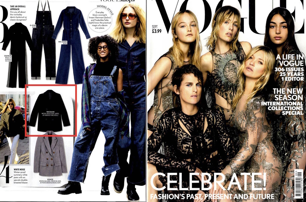 British Vogue September 2017