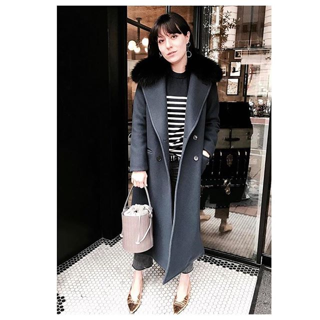 TBT to the gorgeous @katherine_ormerod wearing our No.4 TRICOUNI. . #Tricouni #LuxuryThatPerforms #tbt #coatdisrupters #coatseason #luxuryouterwear