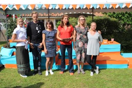 Från vänster: Christina Nylander, förbundsjurist KOMM, Gustav Martner,grundare, Digital Reliance,Jessika Roswall, riksdagsledamot (m), Civilutskottet,Beata Wickbom, moderator, HejDigitalt, Jessica Bjurström, vd, KOMM,Hedvig Hagwall Bruckner, copywriter, King.