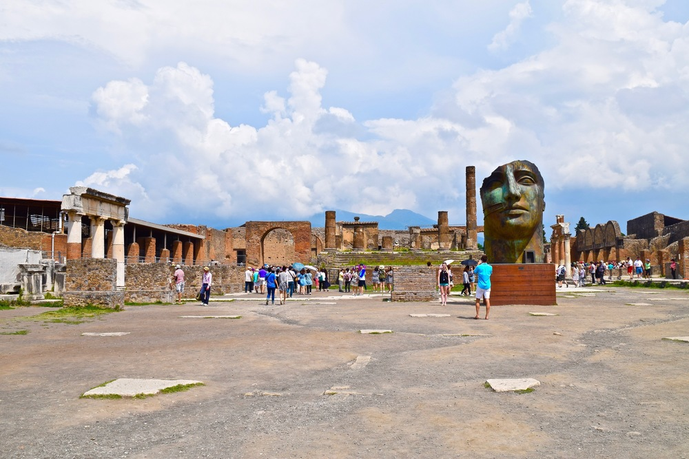 Main Square in Pompeii