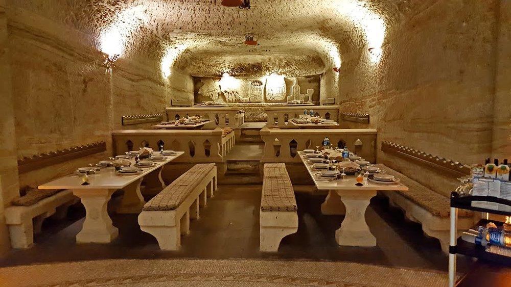 Cave Restaurant in Avanos