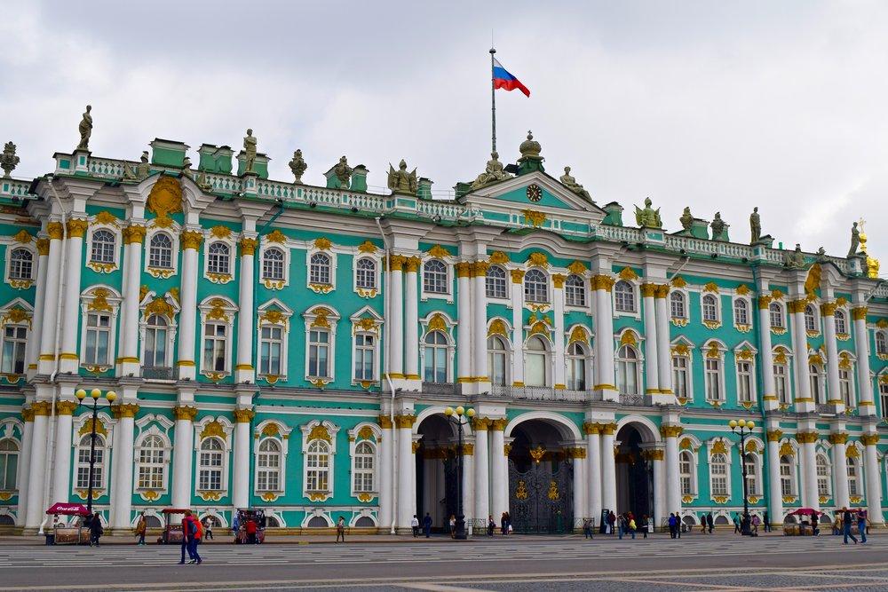 Exterior del Museo del Hermitage