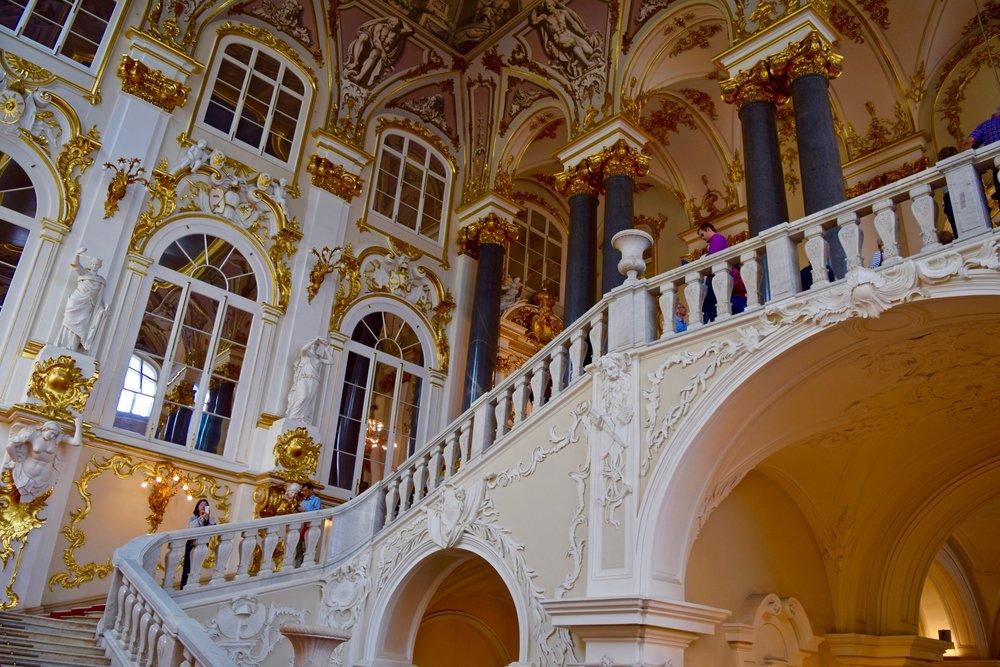 Jordan Gallery & Staircase, Hermitage Museum