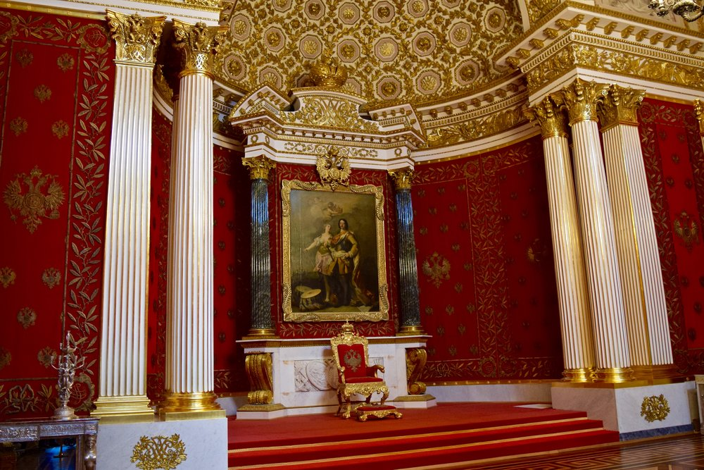Throne Room, Hermitage Museum