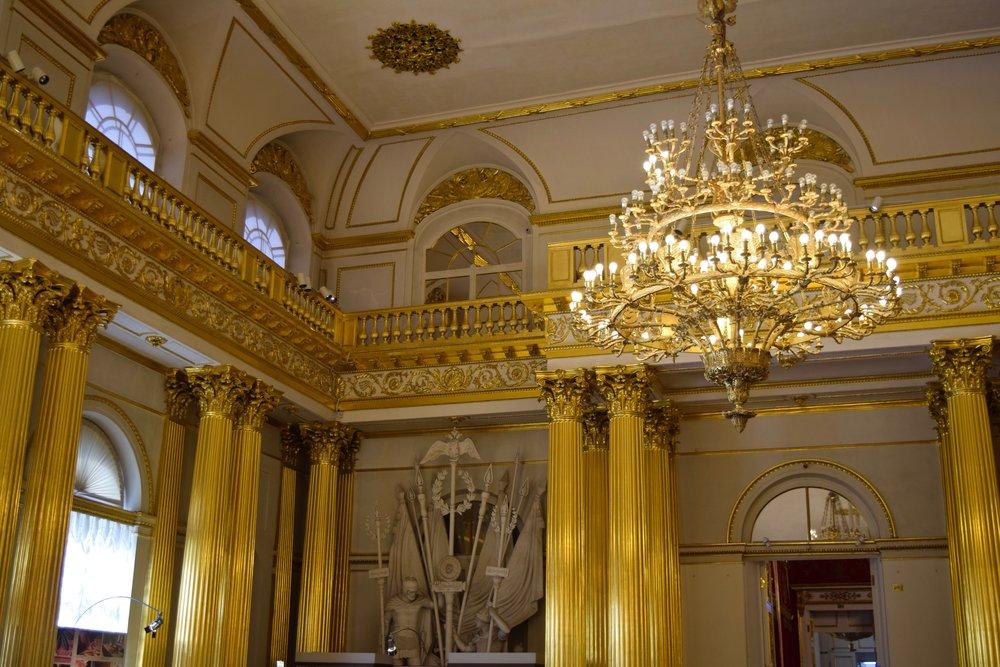 Armorial Hall, Hermitage Museum
