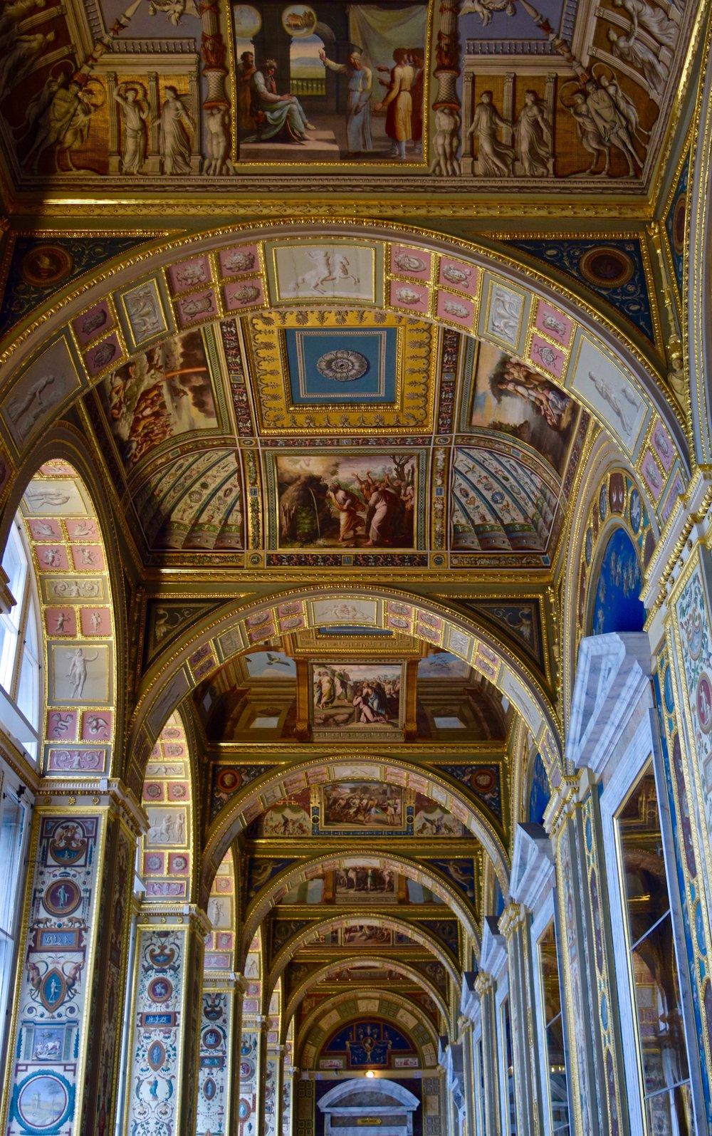 Raphael Loggias, Hermitage Museum