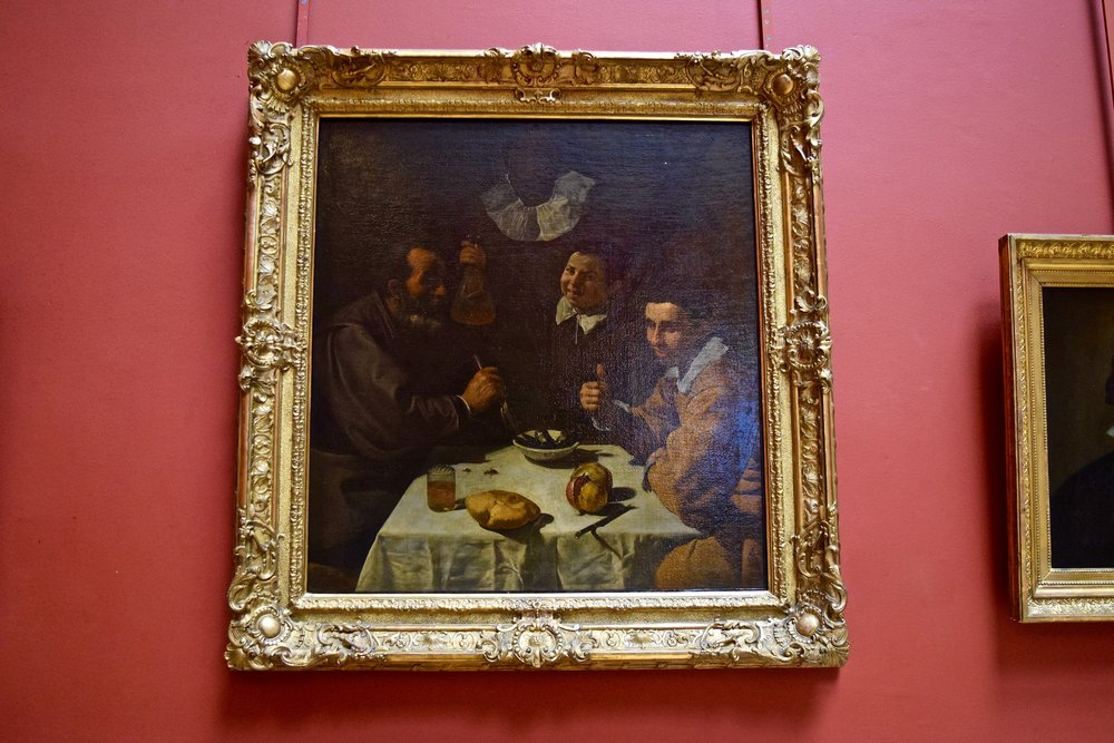 The Lunch  by Velazquez