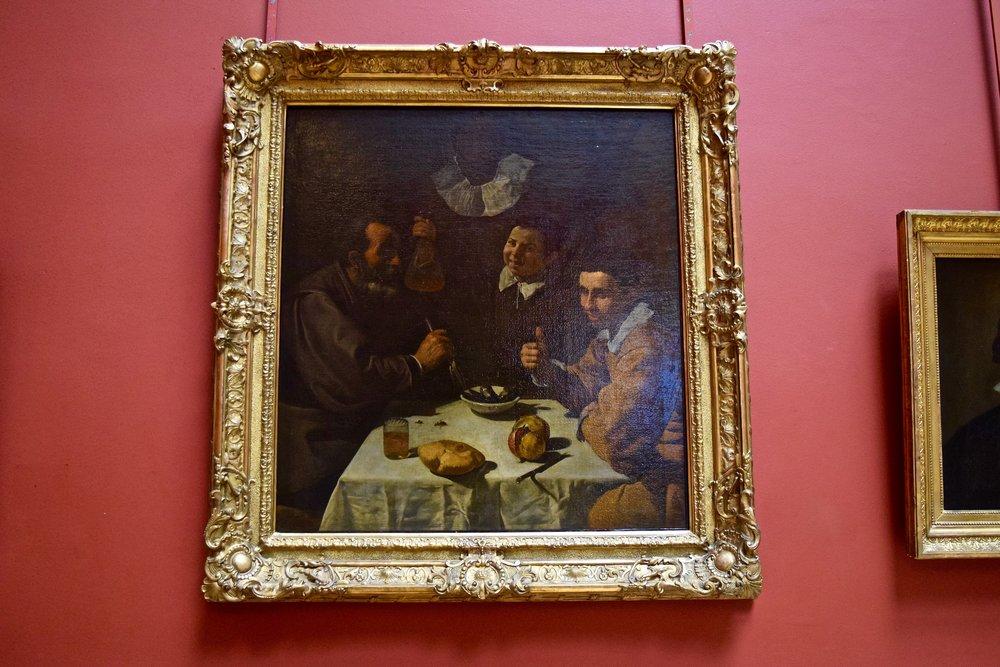 El Almuerzo  de Velazquez