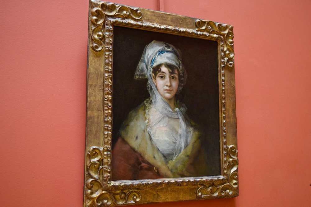 Portrait of Doña Antonia Zárate  by Francisco Goya