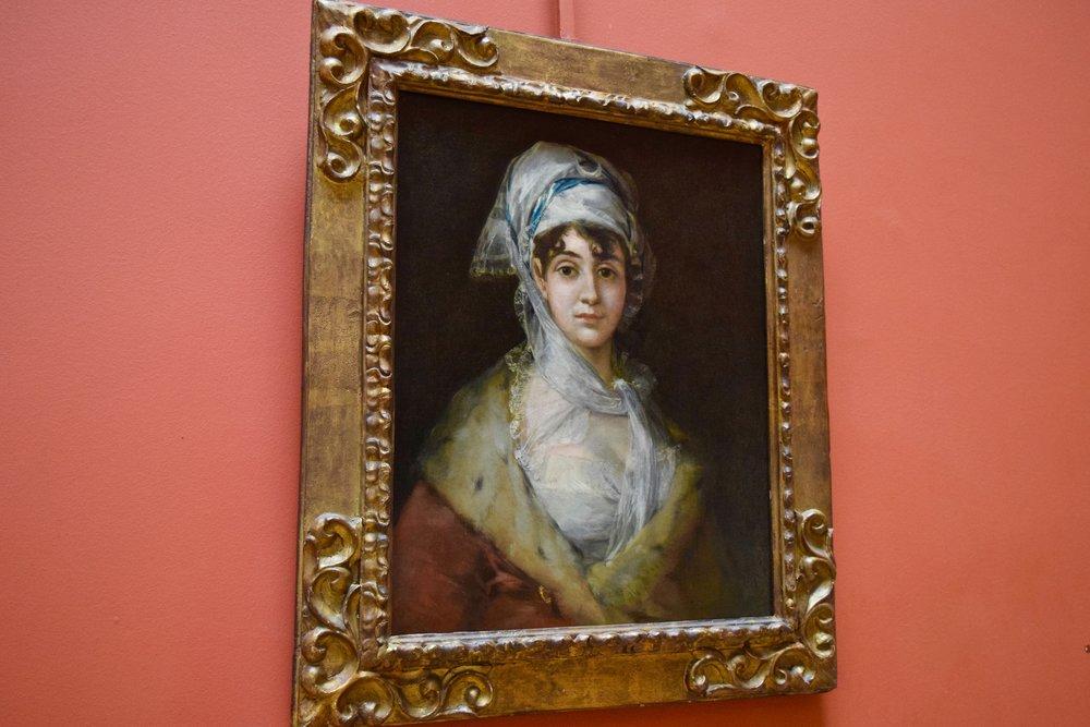 Retrato de Doña Antonia Zárate  por Francisco Goya