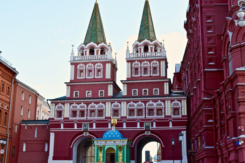 Resurrection Gate & Chapel, Red Square