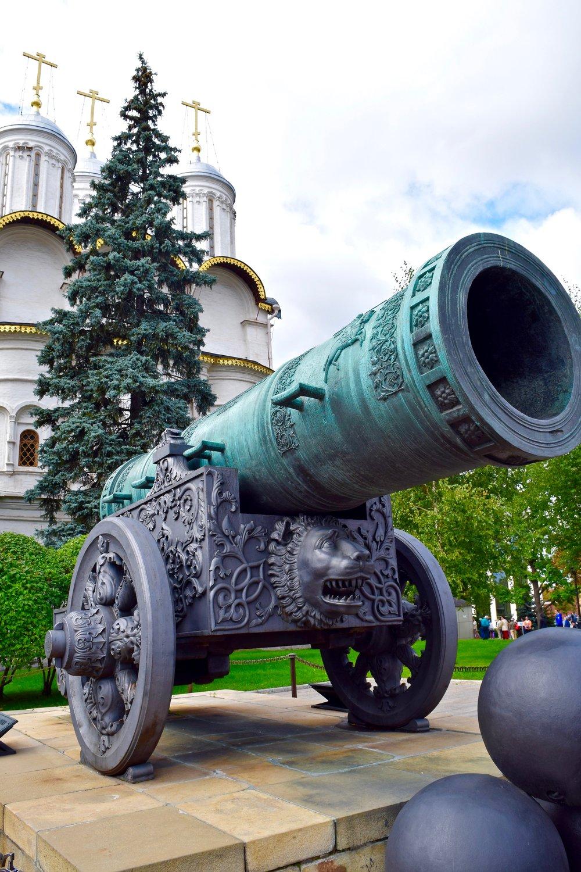 Tsar Cannon, Kremlin