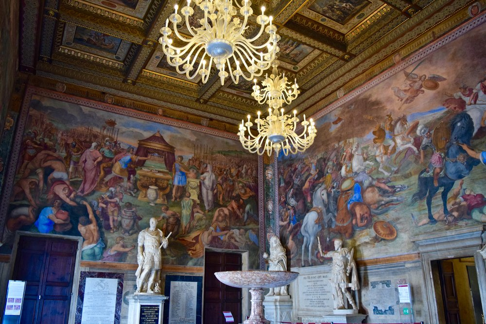 Hall of Captains, Capitoline Museums
