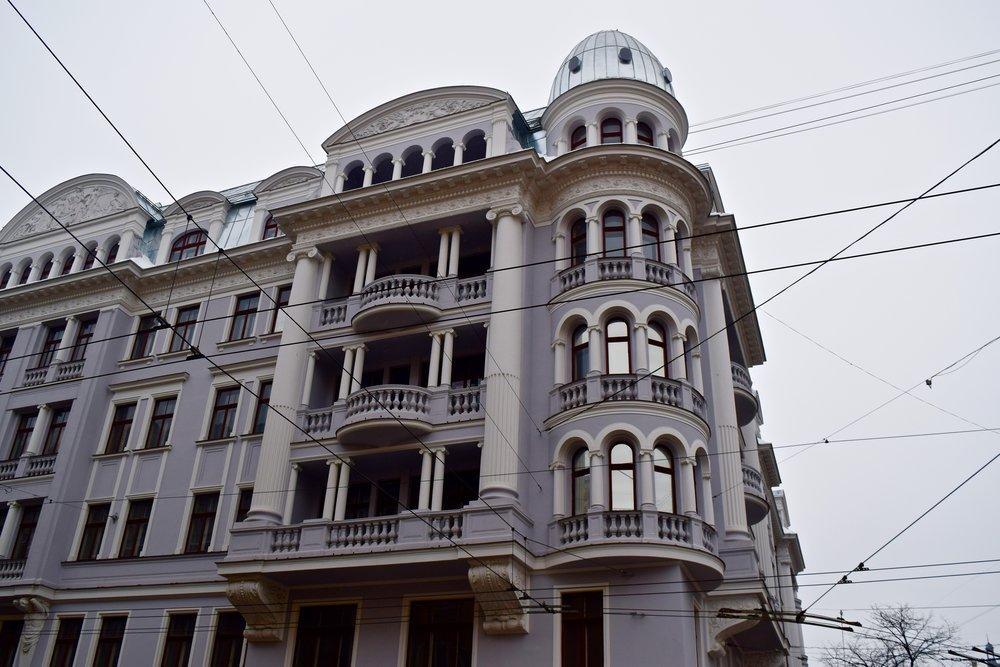 Antiguo edificio de la KGB