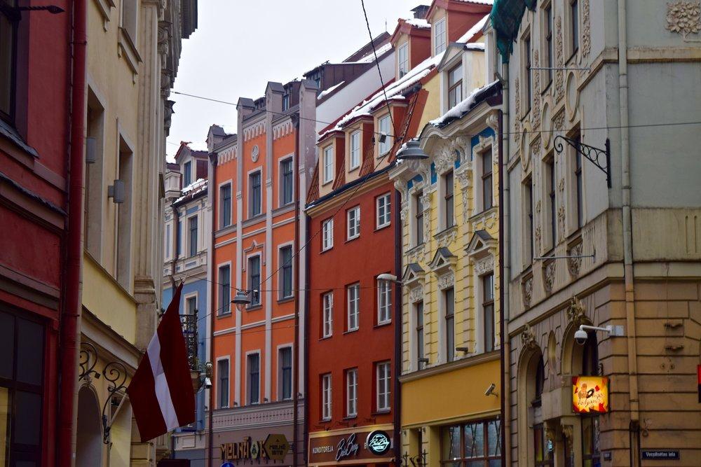 Casco antiguo de Riga