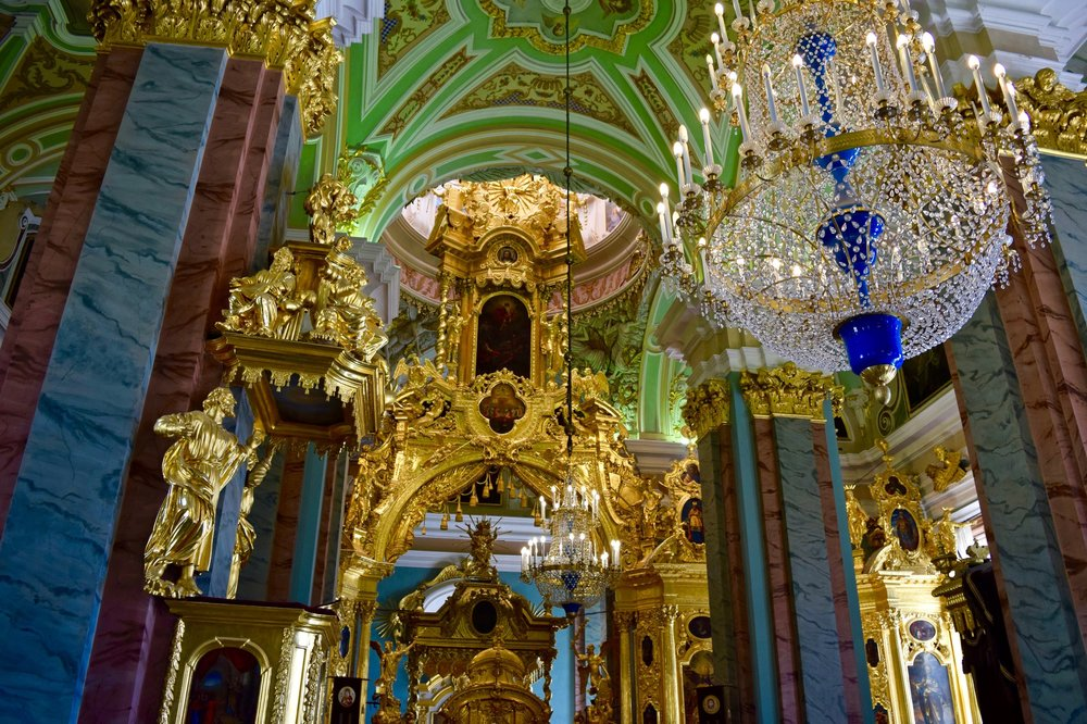 Interior of Peter & Paul Cathedral