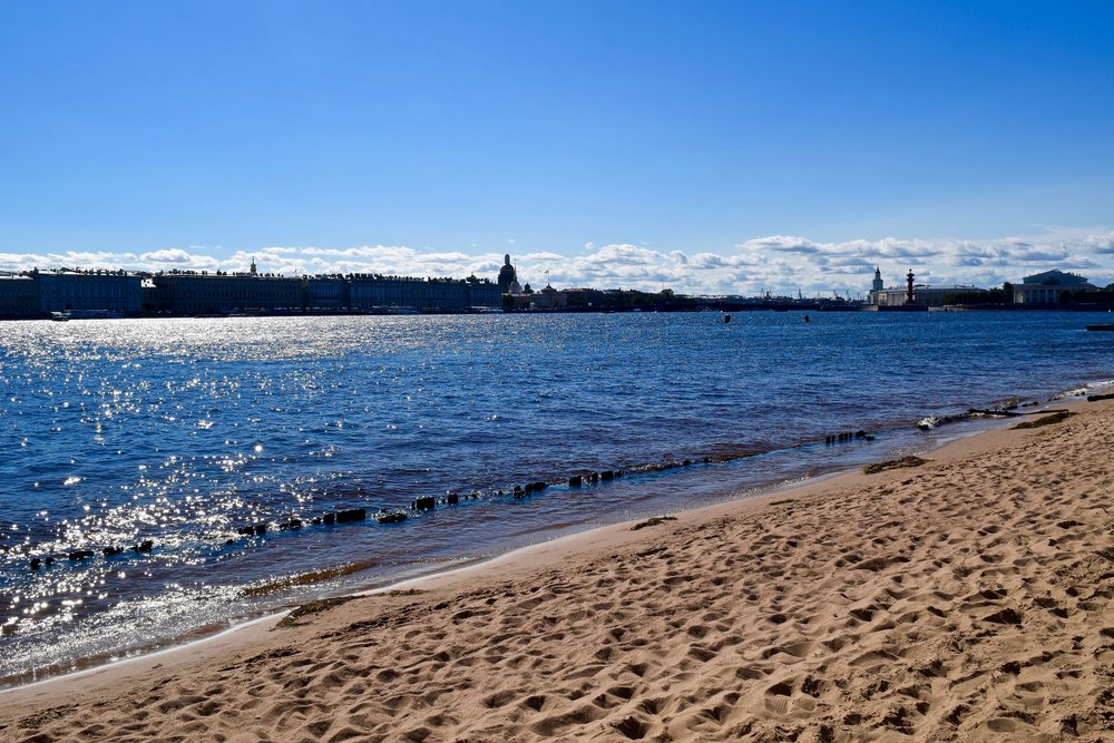 St. Petersburg's beach